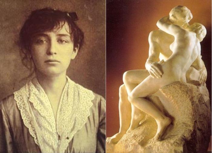 """А вы знаете, кто вдохновил Родена на создание знаменитой скульптуры """"Поцелуй""""?"""