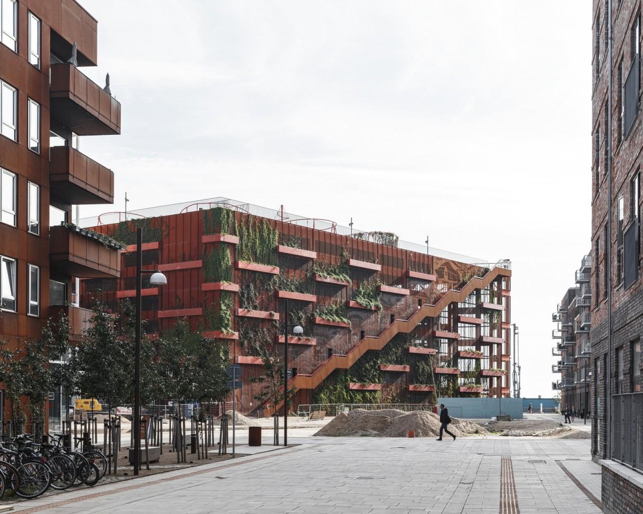 Самая необычная парковка Капенгагена