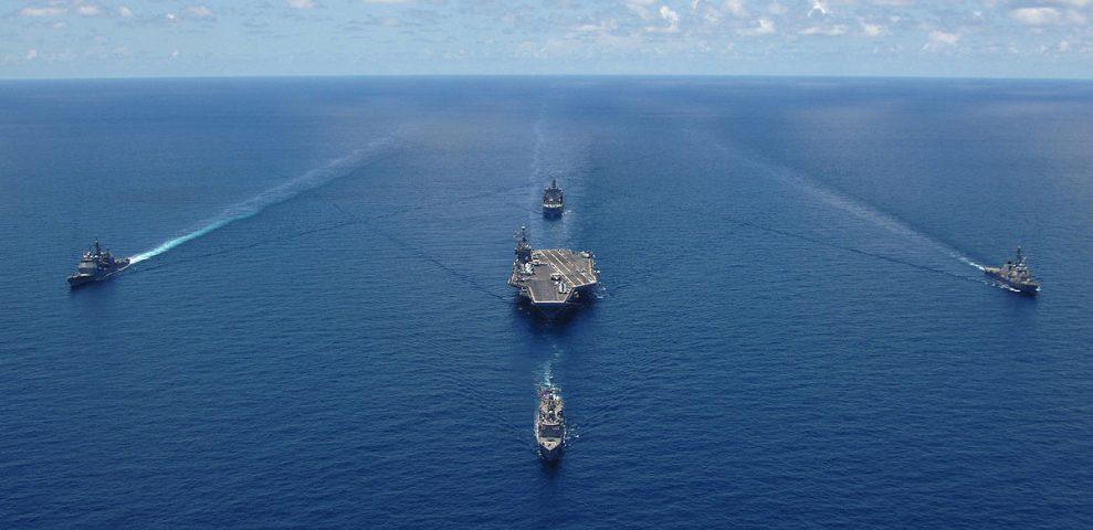Ударная группа ВМС США отправляется к Корейскому полуострову