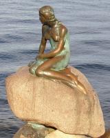 Статуя Русалочки ( Дания - Копенгаген )