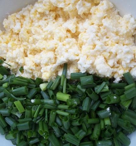 Сванские хачапури с зеленым луком (4)