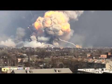 СМИ США: Балаклею подожгла Россия, чтобы уничтожить ядерное оружие Украины