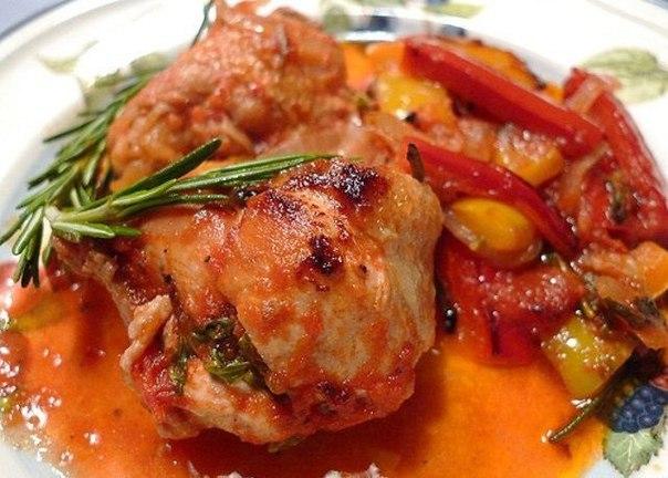 Картинки по запроÑу Тушеное куриное филе Ñо Ñладким перцем к ужину