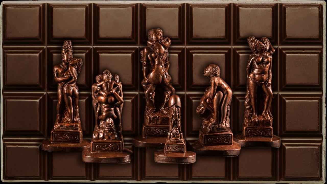Шоколадная Камасутра ко Дню люблённых