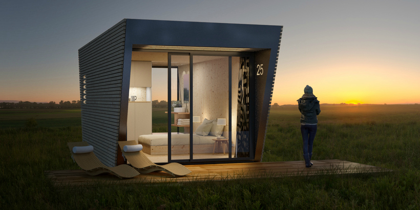 Гостиничный номер вместо палатки, который можно взять с собой!