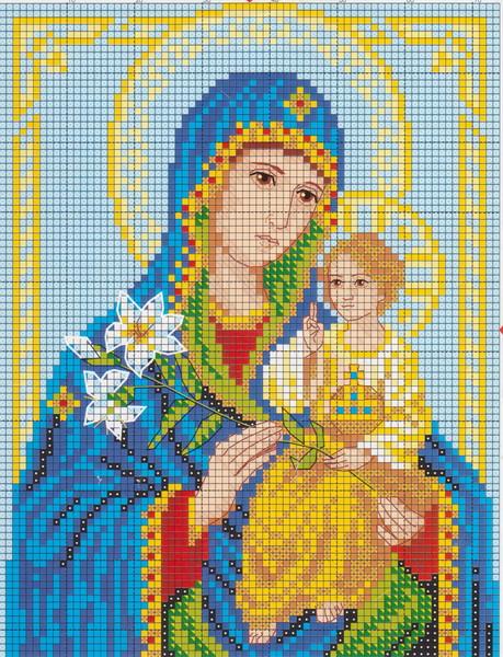 Вышивка крестом схемы вышивки икон