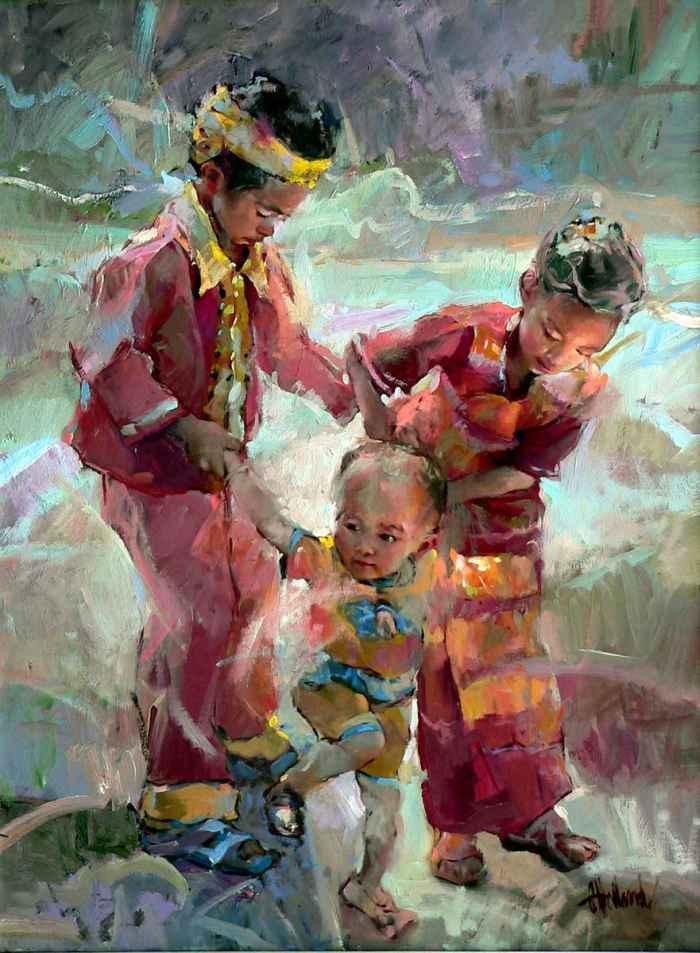 Проницательное искусство. Gary Holland