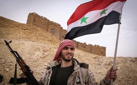 Сначала года сирийская армия освободила отДАИШ 3400 кв. км