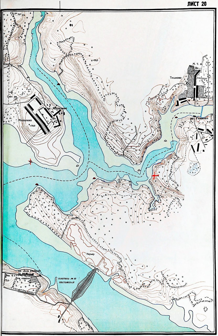 канал им москвы карта рыбалка