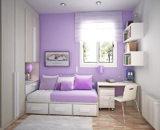 Влияние цвета интерьера на человека. Фиолетовый.