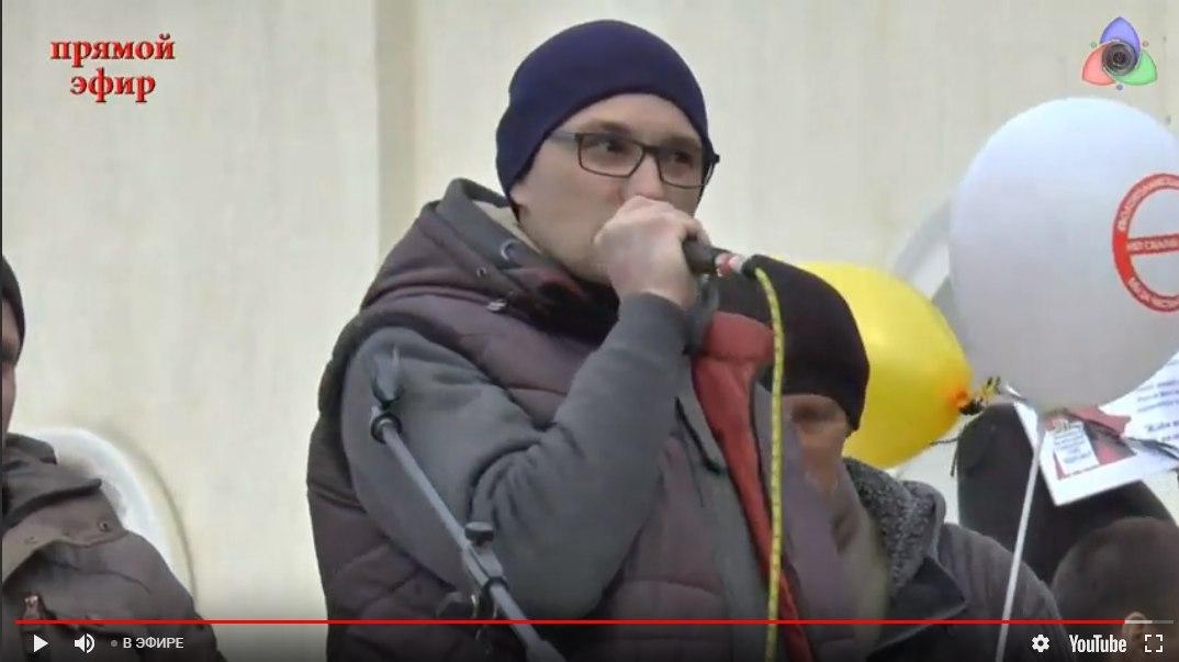Ничего святого: оппозиция провела митинг в Волоколамске под патронажем Олега Акимова