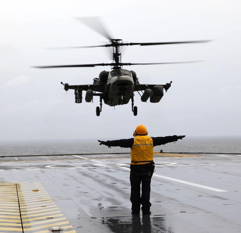 """""""Вертолеты России"""" заявили о готовности поставить Египту Ка-52 для """"Мистралей"""""""