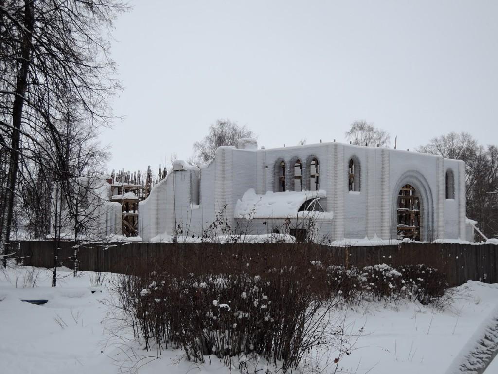Будущий храм