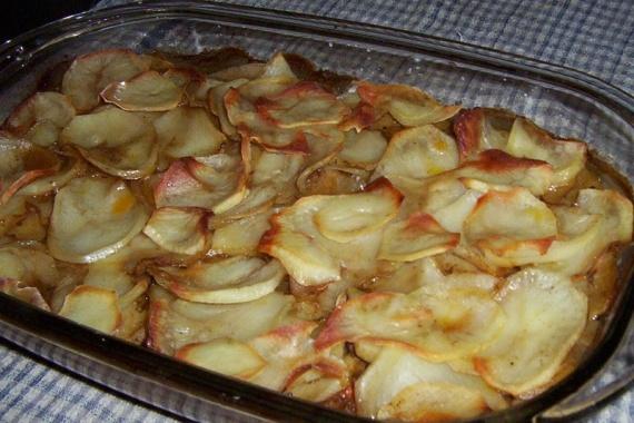 Говядина с картошкой слоями в духовке рецепт