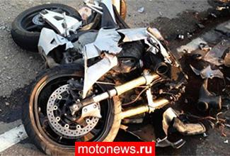 Большая доля трагических ДТП с участием мотоциклов происходит в темное время суток