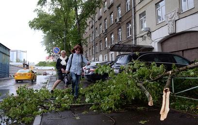 Как москвичи отреагировали на ураган в соцсетях
