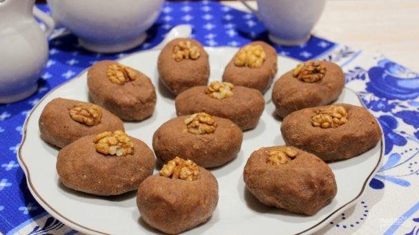 Пирожное «Картошка» с орехами
