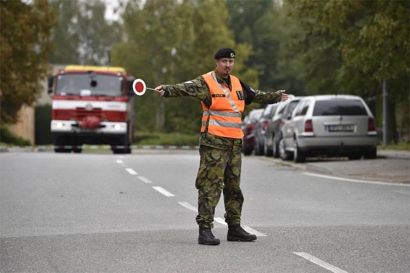 В Военной академии Чехии прогремел взрыв