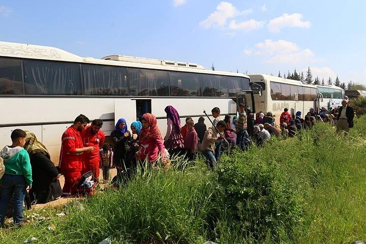 Более тысячи боевиков выведены из Восточного Каламуна в Сирии