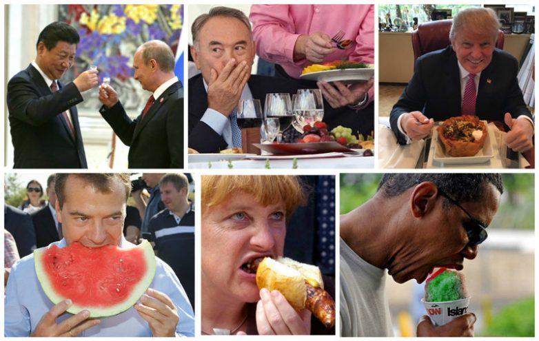 Что едят политики разных стран?