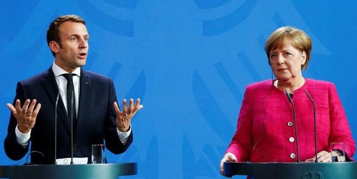 Меркель и Макрон потребовали…