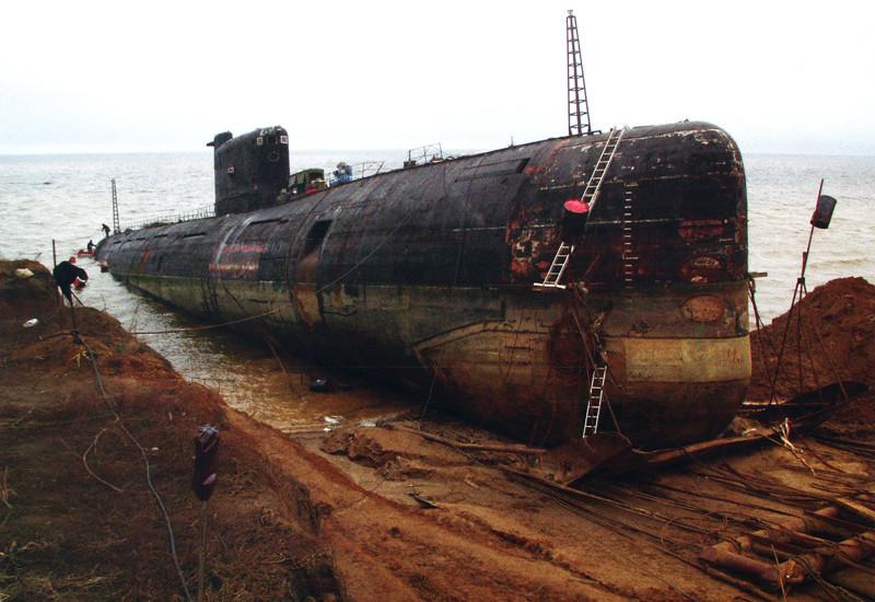 Из Кронштадта в Тольятти лодка преодолела путь длиной 2246 км в основном по воде с помощью понтонов и буксиров. б307, вмф, музей, подлодка, тольятти