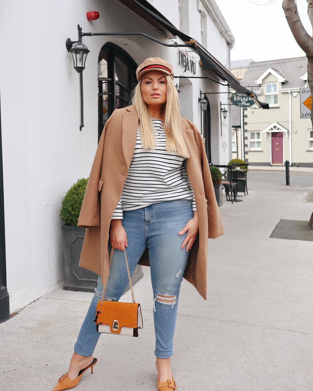 Модные тенденции осени 2019 для полных женщин фото 15
