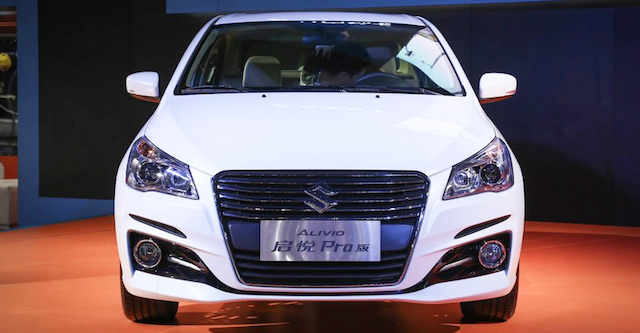 Обновленный Suzuki Alivio с «мордой Audi» вышел в продажу