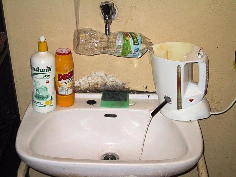 Как сделать воду теплой