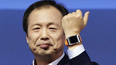 Samsung представила «умные часы» Galaxy Gear