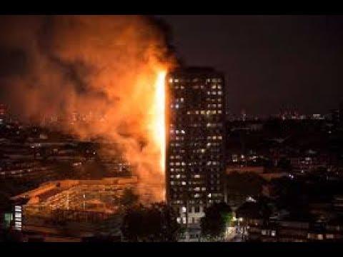Жуткий пожар в Лондоне