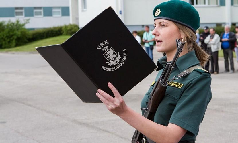 Ради НАТО: латвийских пограничников обязали избавиться от автоматов Калашникова