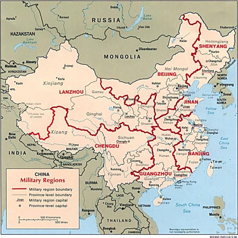 Вооружение КНР против вооружения РФ