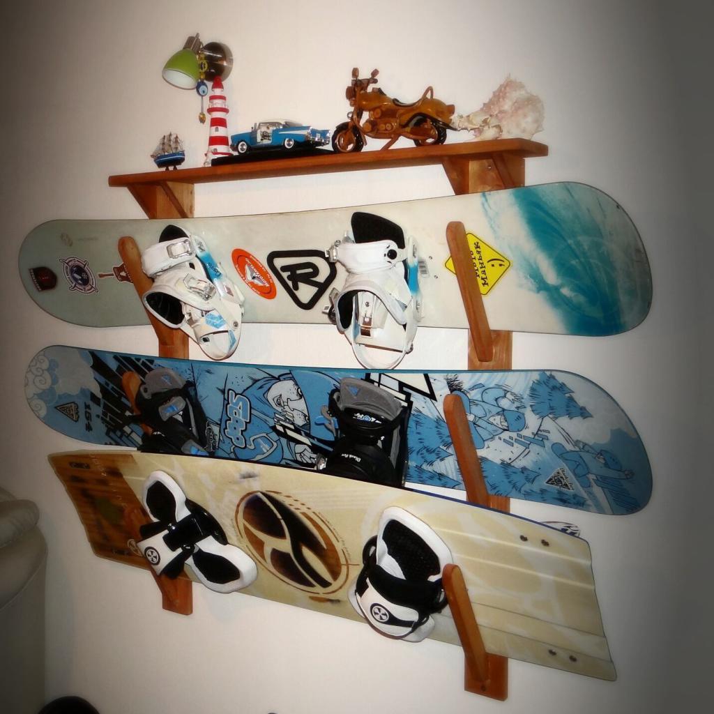 Лыжи к стене своими руками