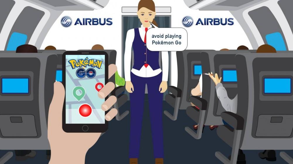 Покемоны проникли на завод концерна Airbus