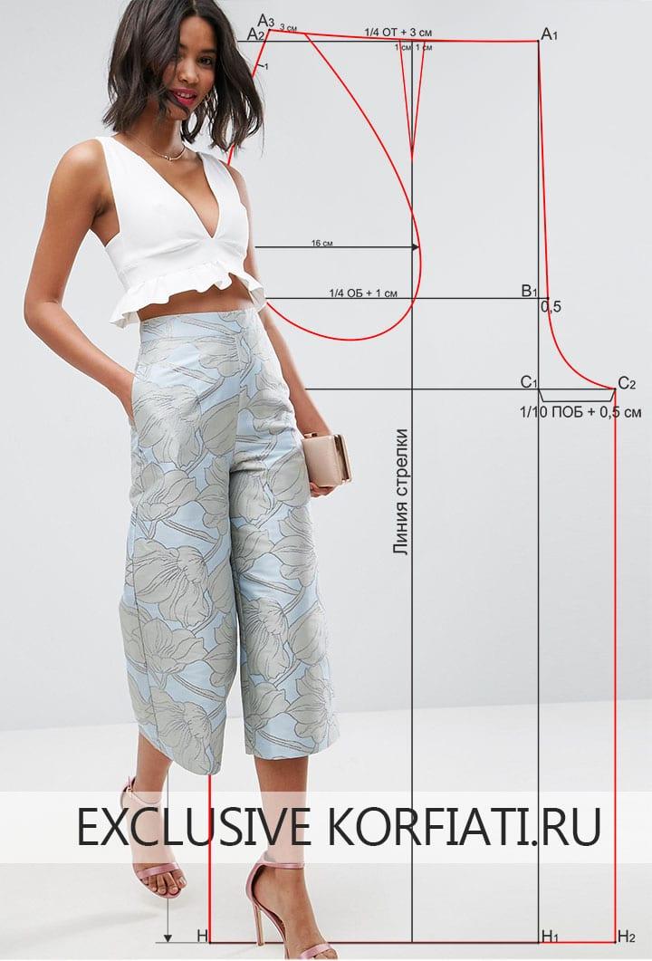 Как сшить брюки из хлопка, льна или коттона? Простой способ