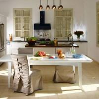 чехлы для стульев на кухню фото 21