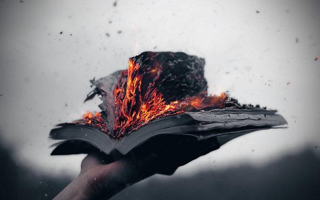 Сжечь Александрийскую библиотеку