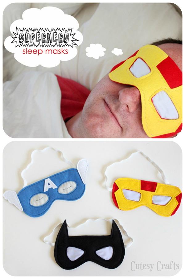Когда супер герои спят (diy)