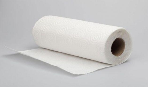 Использование бумажных полотенец в быту