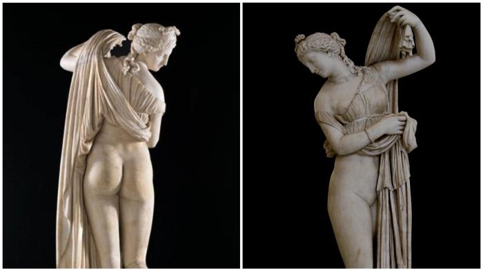 Афродита Каллипига: «ягодичный эталон» Античности.