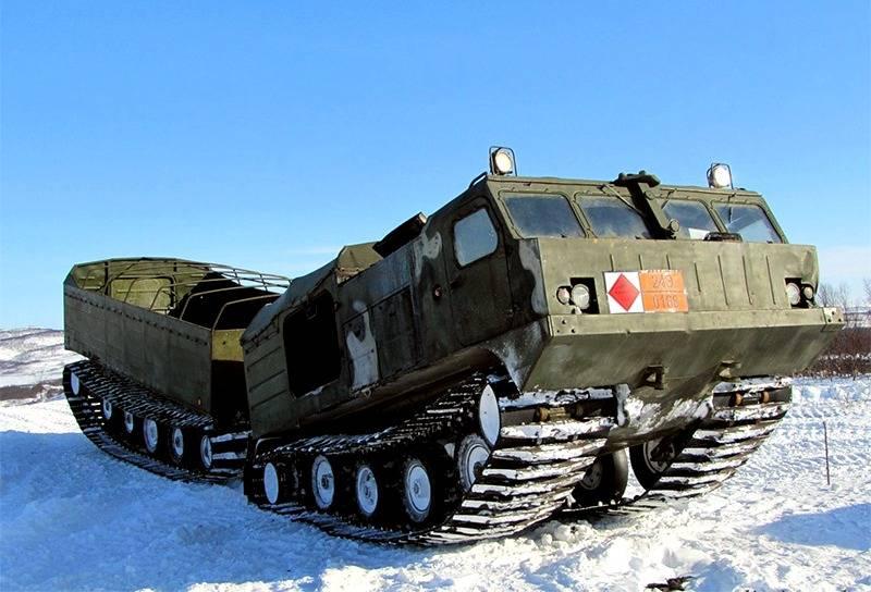 Тест-драйв новейшей военной техники за Полярным кругом