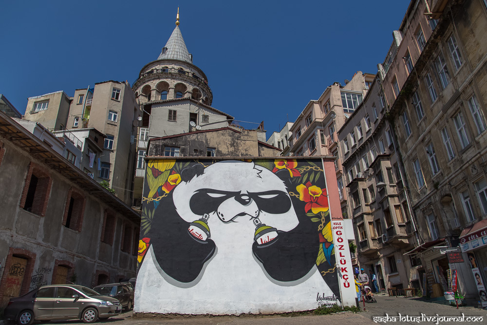 Стрит-арт Стамбула