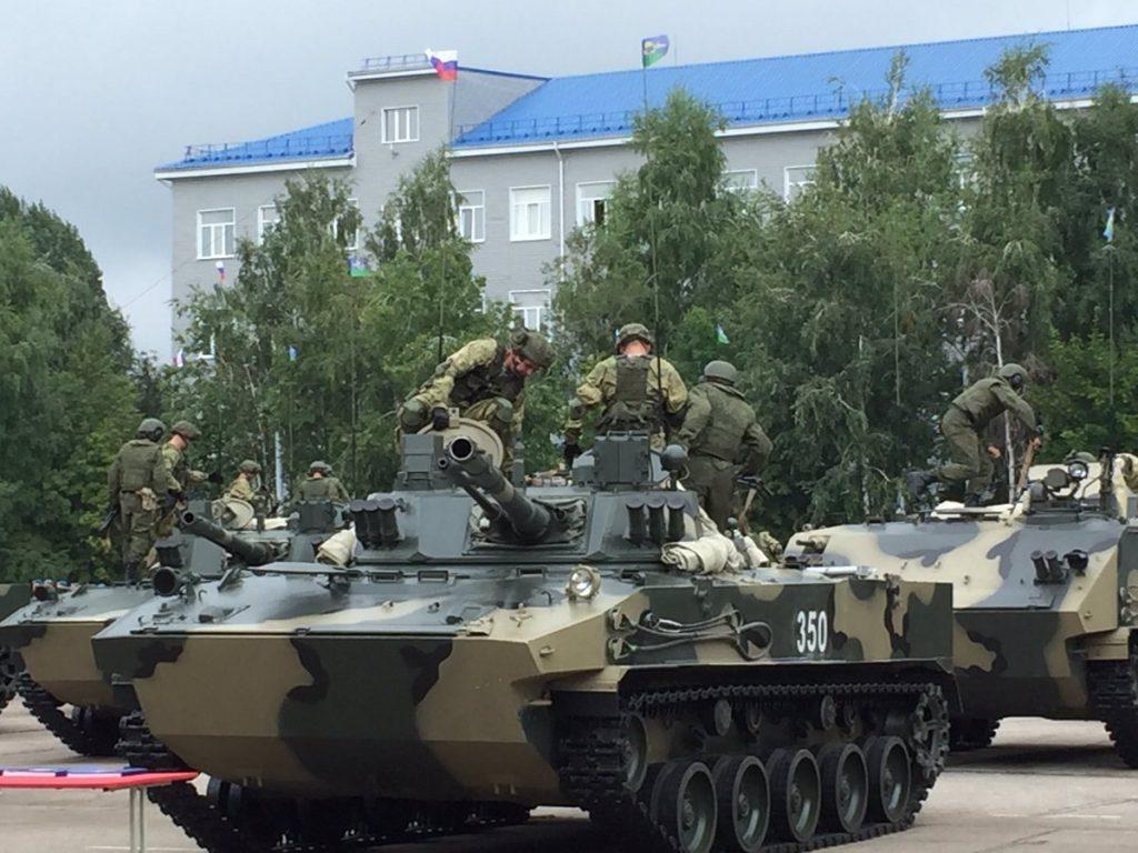 31-я гвардейская отдельная десантно-штурмовая бригада получила второй батальонный комплект БМД-4М