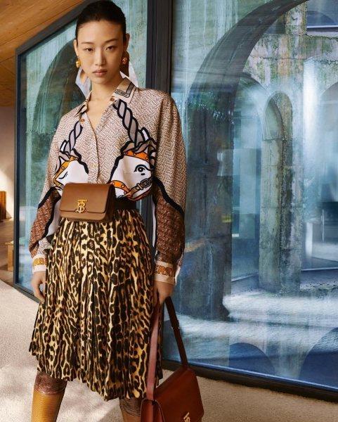 «Городская хищница»: леопард, рептилия и другие модные принты