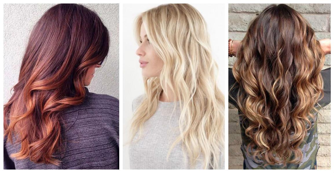 Яркий хит: идеи для балаяжа для волос разных оттенков