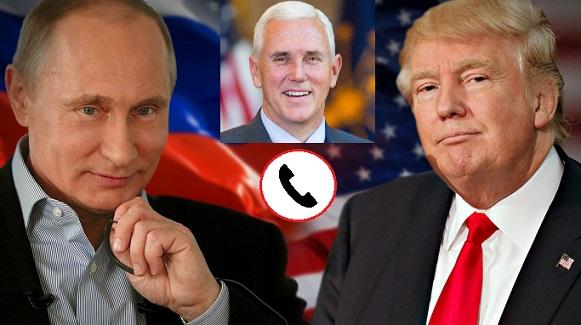 Кремль отреагировал наприсоединение Пенса кразговору Трампа иПутина
