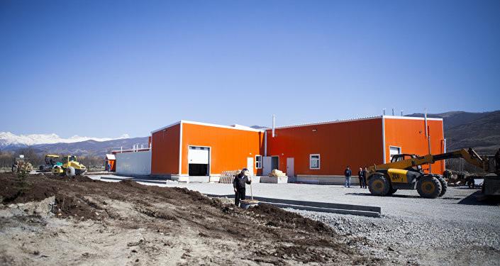 Евродон открыл первый в Южной Осетии современный мясокомбинат