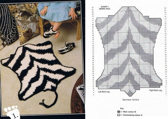 Вязаные коврики крючком: интересные модели, схемы и описание... Самая огромная подборка и лучшие советы!