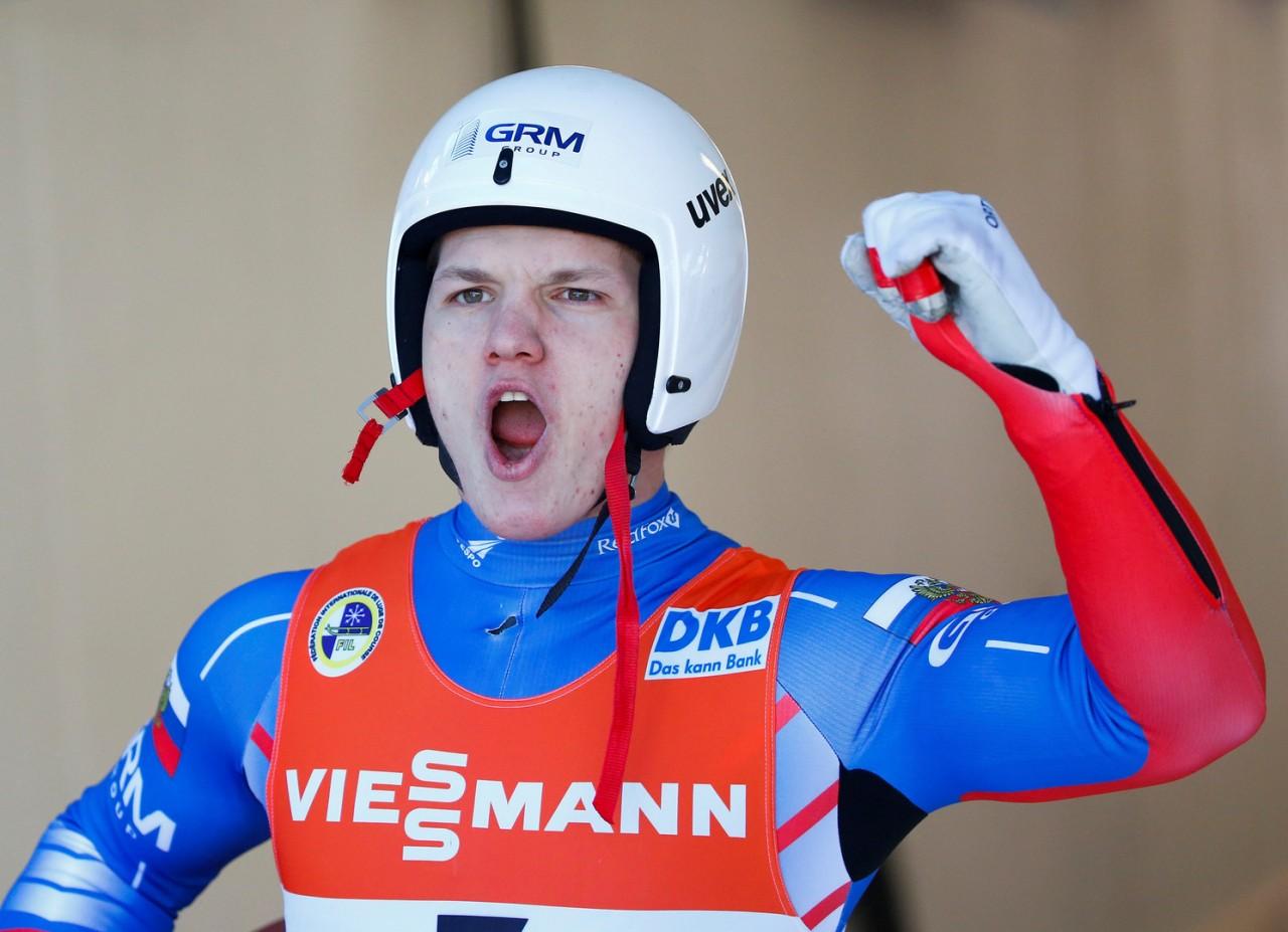 Переписавший историю: россиянин Репилов стал обладателем Кубка мира по санному спорту